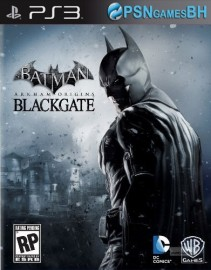 Batman Arkham Origins Blackgate Ediçao Deluxe  PSN PS3