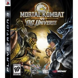 Mortal Kombat vs. DC Universe PSN PS3