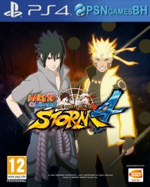 NARUTO SHIPPUDEN Ultimate Ninja STORM 4 SECUNDARIA PSN PS4