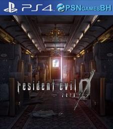 Resident Evil 0 VIP PSN PS4