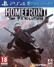 Homefront: The Revolution VIP PSN PS4