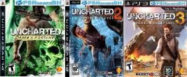 Uncharted 1 + 2 +3 PSN