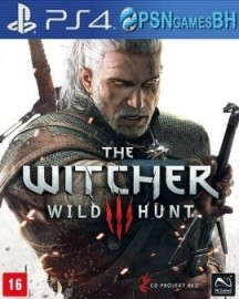 The Witcher 3 Wild Hunt CONTA SECUNDÁRIA PSN PS4