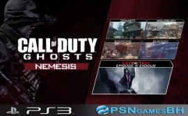 Call Of Duty Nemesis map pack DLC Psn PS3
