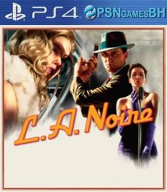 L.A. Noire Secundaria PS4