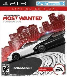 Need for speed Most Wanted PSN