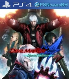 Devil May Cry 4 Special Edition VIP PSN PS4