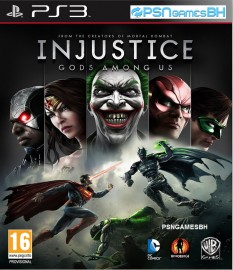 Injustice Gods Among Us PSN