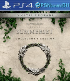 The Elder Scrolls Online: Summerset Collector's Edition VIP PS4