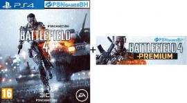 Battlefield 4 + DLCS Premium PSN PS4