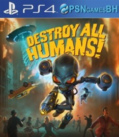 Destroy All Humans! VIP PS4