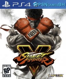 Street Fighter V PS4 CONTA SECUNDARIA