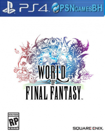 World of Final Fantasy Secundaria PS4