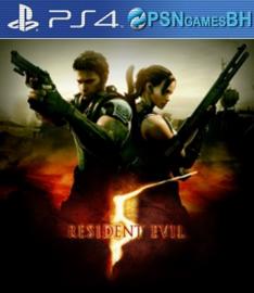 Resident Evil 5 Secundaria PS4