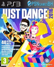 Just Dance 2016 PSN PS3