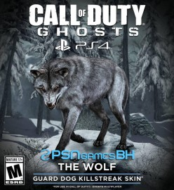 Call of duty ghosts Wolf Skin PS4 PSN