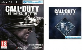 COD Ghosts + FREE FALL PSN