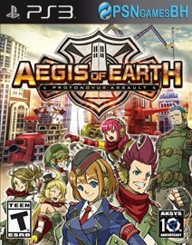 Aegis of Earth: Protonovus Assault PSN PS3