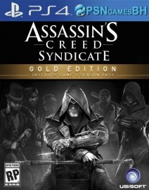 Assassins Creed Syndicate Gold Edition VIP PS4
