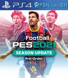 PES 2021 Secundaria PS4