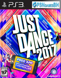 Just Dance 2017 PSN PS3