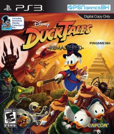 DuckTales Caçadores de Aventuras Remastered PSN PS3