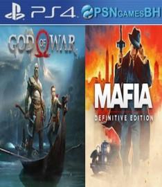 Mafia Definitive Edition + God of War Secundaria PS4