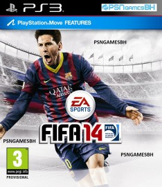 FIFA 14 INGLES PSN PS3