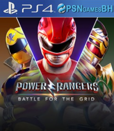 Power Rangers: Battle For The Grid VIP PS4