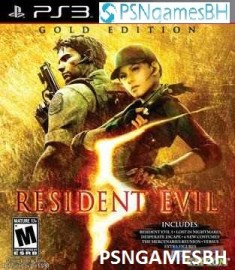 Resident Evil 5 Gold Edition PSN PS3