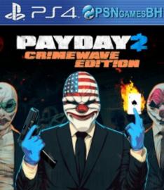 PAYDAY 2: Edição Crimewave VIP PS4