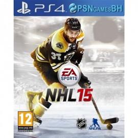 NHL 15 PSN PS4 CONTA SECUNDARIA