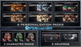 Pack 4 dlc Ghosts PS3 PSN