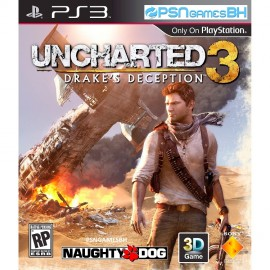 Uncharted 3 PSN PS3