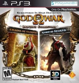 God Of War Origins (GOW) PSN PS3