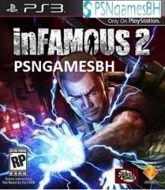 Infamous 2 PSN PS3