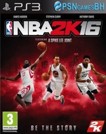 NBA 2K16 PSN PS3