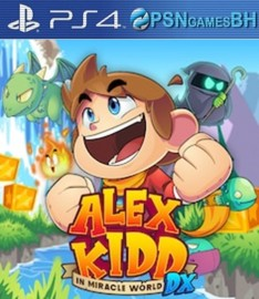 Alex Kidd in Miracle World DX VIP PS4|PS5