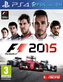 F1 2015 Secundario PS4