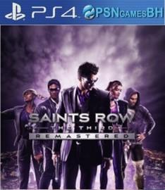 Saints Row The Third Remastered VIP PS4