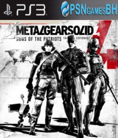 Metal Gear Solid 4: Guns of the Patriots PSN PS3