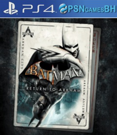 Batman: Return to Arkham Secundaria PS4