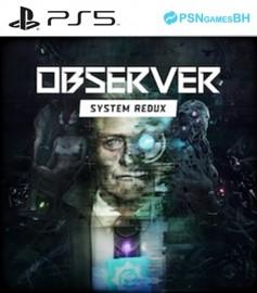 Observer VIP PS5