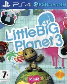 Little Big Planet 3 Pt-Br VIP PS4