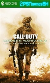 Call of Duty Modern Warfare 2 Campanha Remastered XBOX One