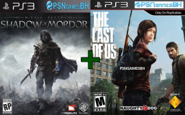 Middle-Earth Shadow of Mordor + The Last Of Us PS3