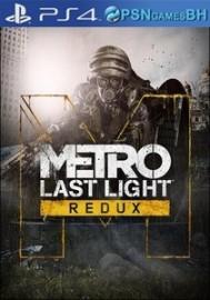 Metro Last Light Redux VIP PS4