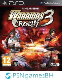 Warriors Orochi 3 PSN