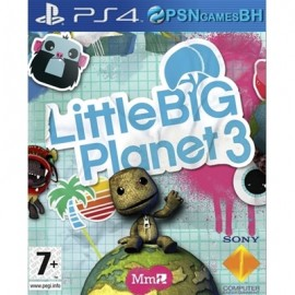 LittleBigPlanet 3 PSN PS4 CONTA SECUNDARIA