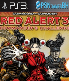 Command & Conquer Red Alert 3 Commander's Challenge PSN PS3